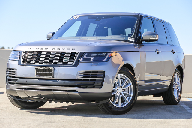 New 2020 Land Rover Range Rover SWB With Navigation & 4WD