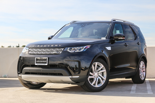 New 2019 Land Rover Discovery HSE V6 Supercharged With Navigation & 4WD