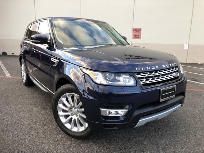 Certified Pre Owned 2015 Land Rover Range Rover Sport Hse Suv In