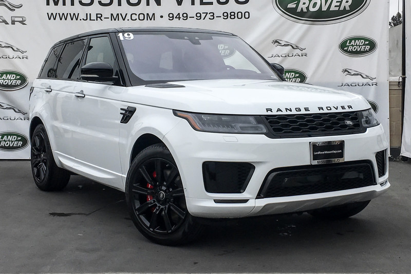 Range Rover Mission Viejo >> New 2019 Land Rover Range Rover Sport HST 4 Door in Mission Viejo #219679 | Land Rover Mission Viejo